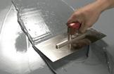 Abdichtung wasserdicht, hochelastisch und garantiert sicher