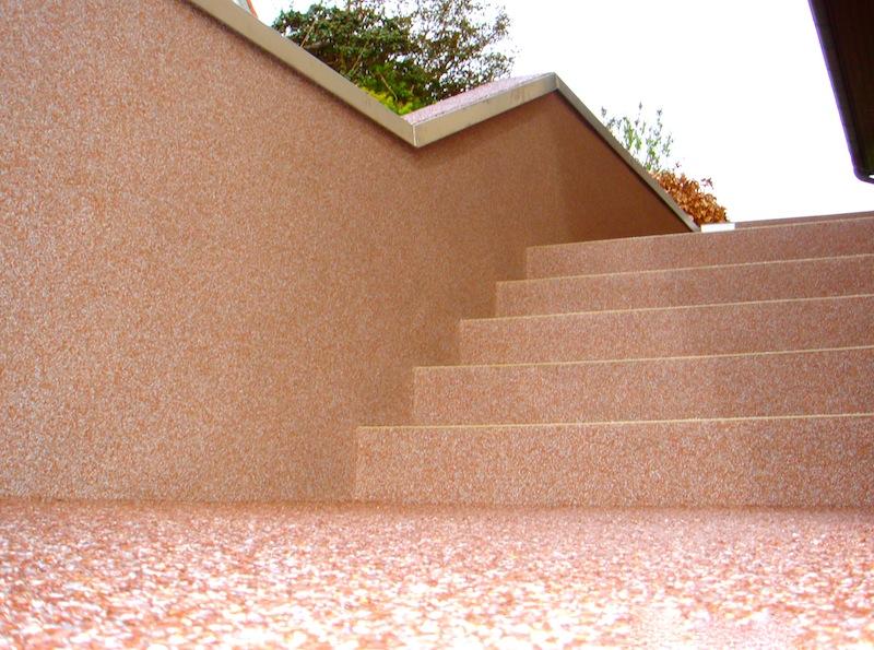 Steinteppich treppensanierung die neuesten for Holzbuchstaben madchen