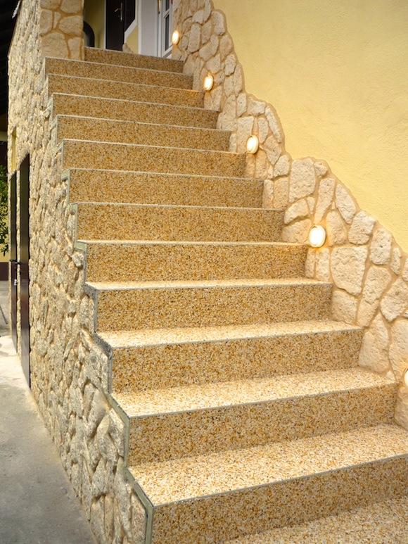 Steinteppich Treppe 97846 partenstein oberer weg 46 referenzen wagner steinteppich